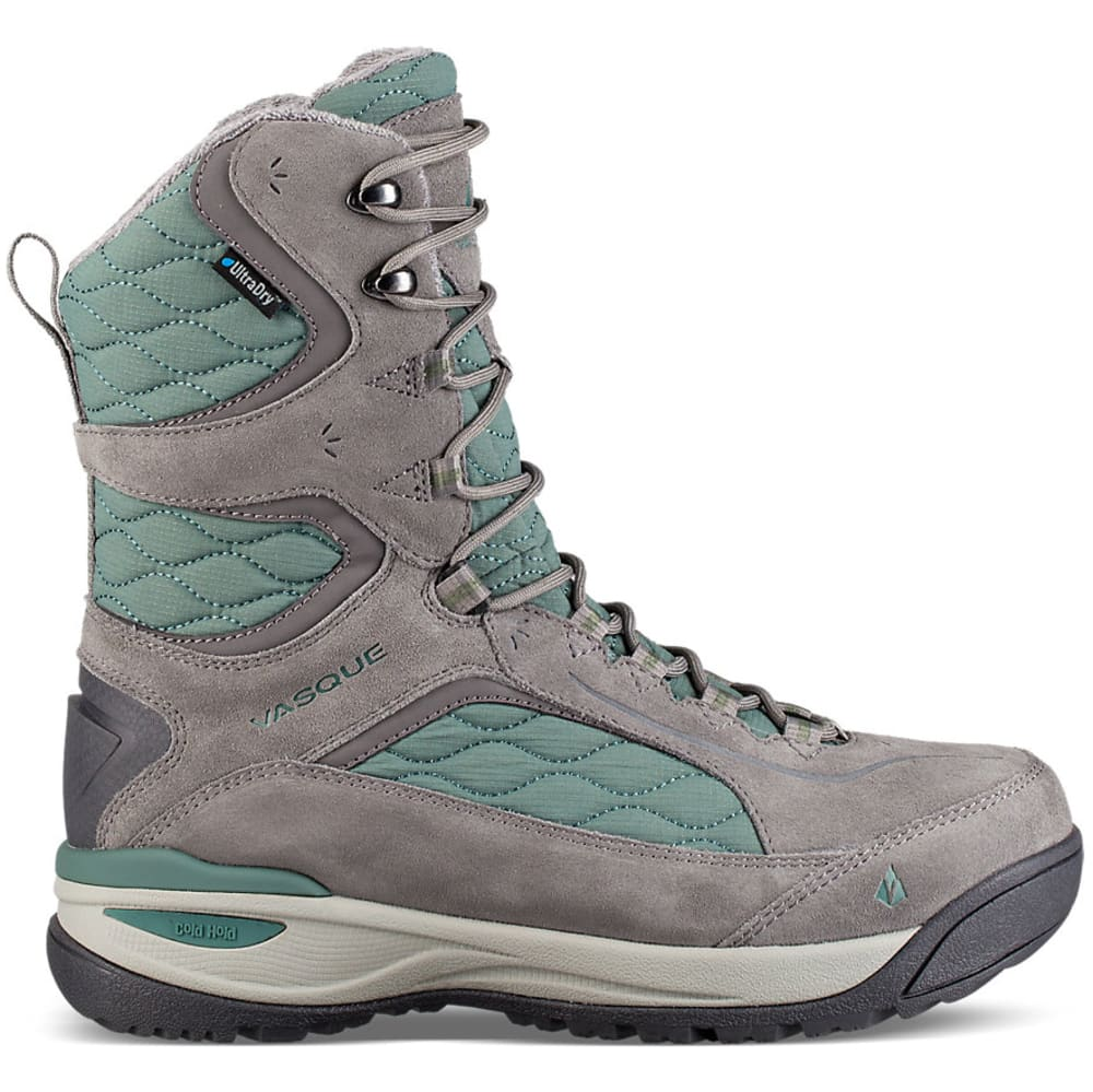VASQUE Women's Pow Pow III Ultradry Winter Boots - GREY/SILVER PINE