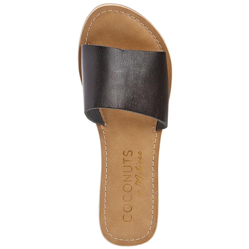 COCONUTS BY MATISSE Women's Cabana Slide Sandals - BLACK