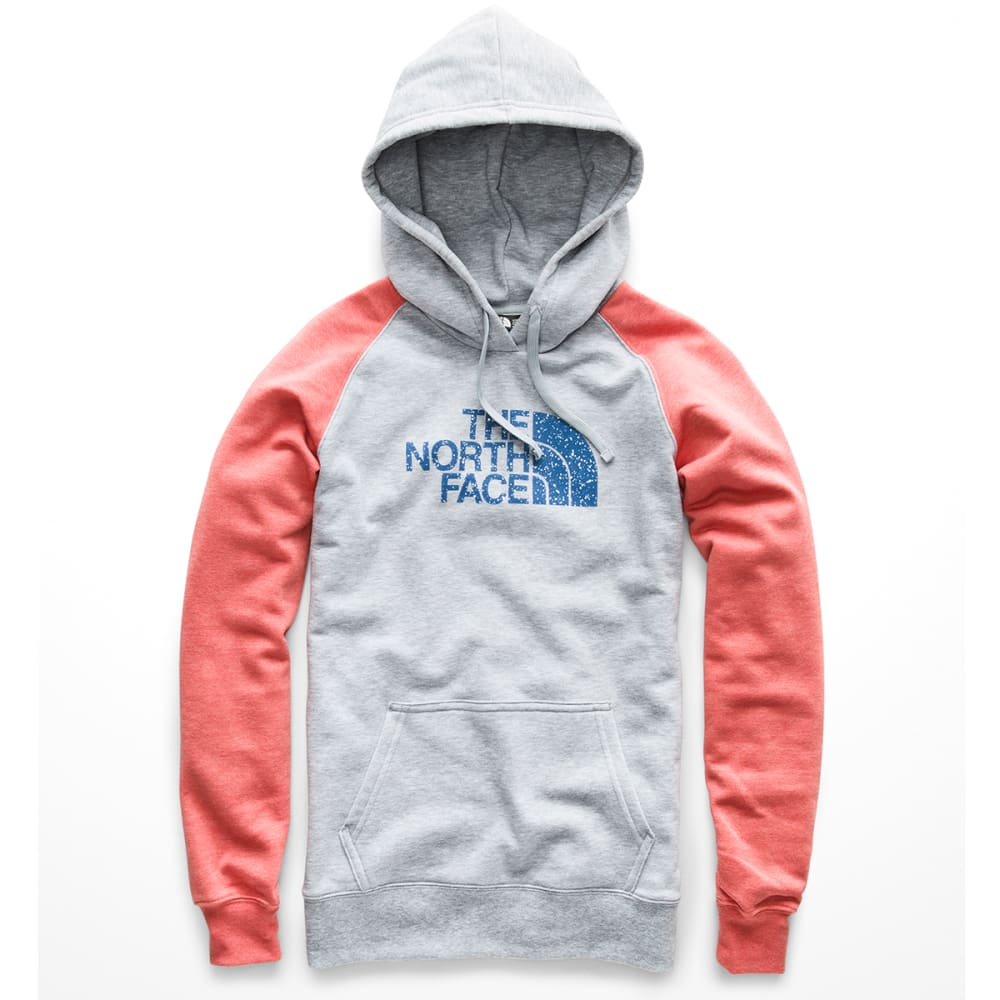 THE NORTH FACE Women's Half Dome Pullover Hoodie - 5HP TNF LT GRE ROSE