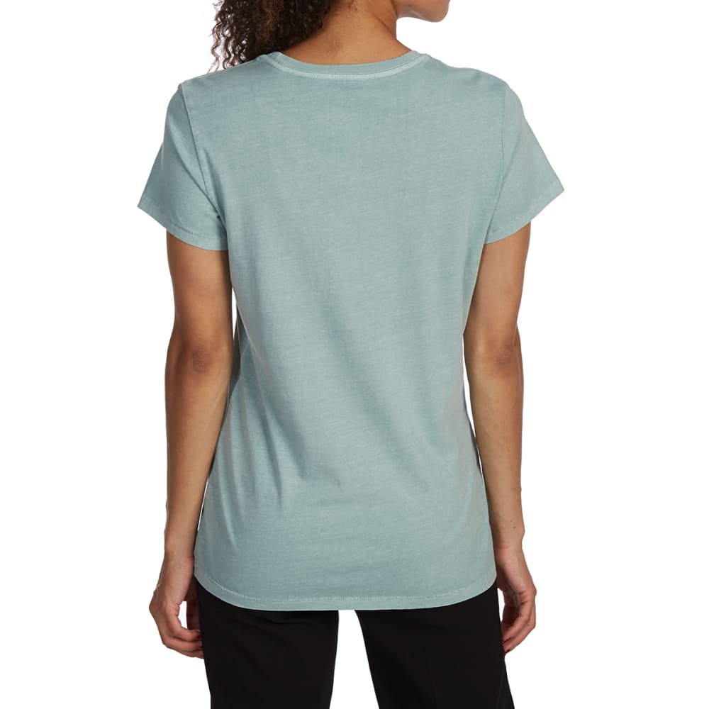 THE NORTH FACE Women's Half Dome Pigment Crew Short-Sleeve Tee - 5KH BLUE HAZE POR GR