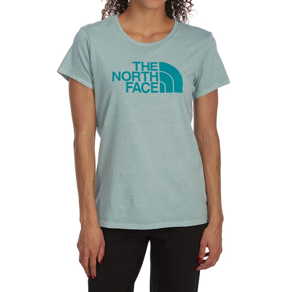 THE NORTH FACE Women's Half Dome Pigment Crew Short-Sleeve Tee - 5KH BLUE HAZE POR GR