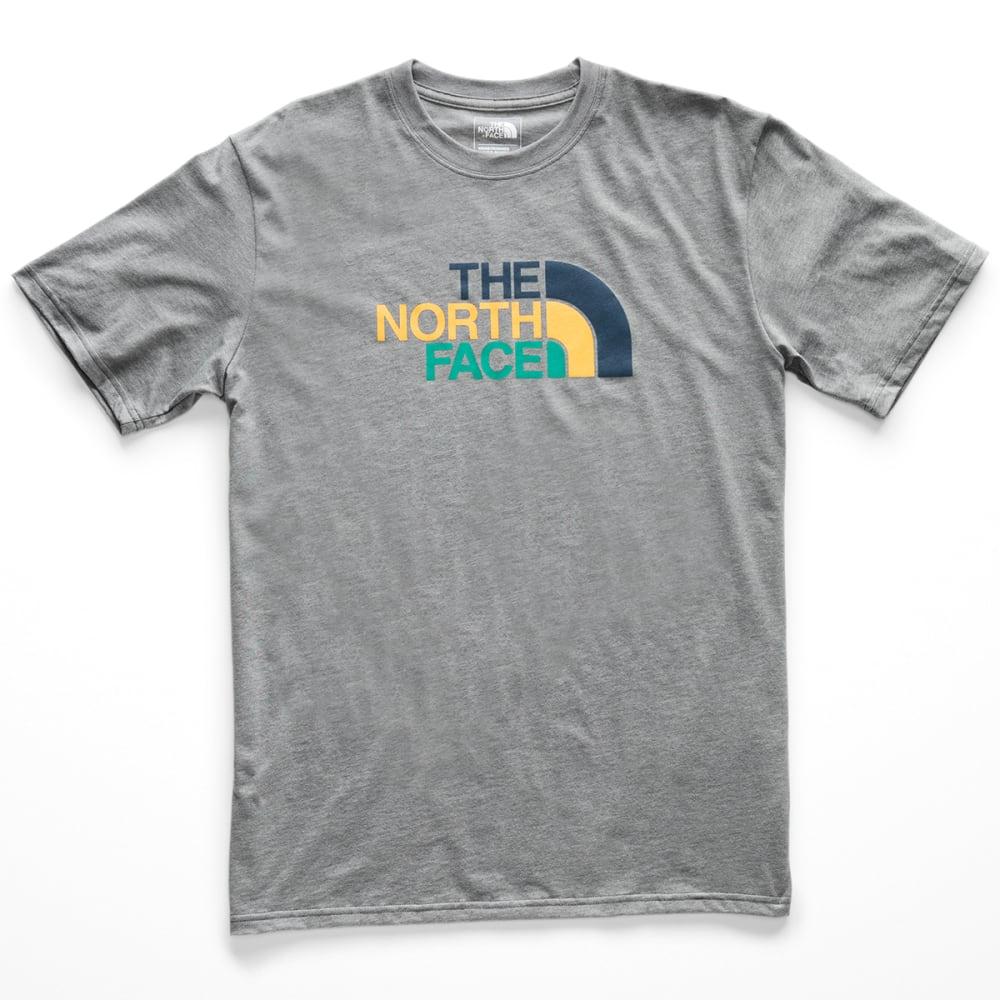 THE NORTH FACE Men's Climb On Half Dome Short-Sleeve Tee - DYY-TNF MED GREY