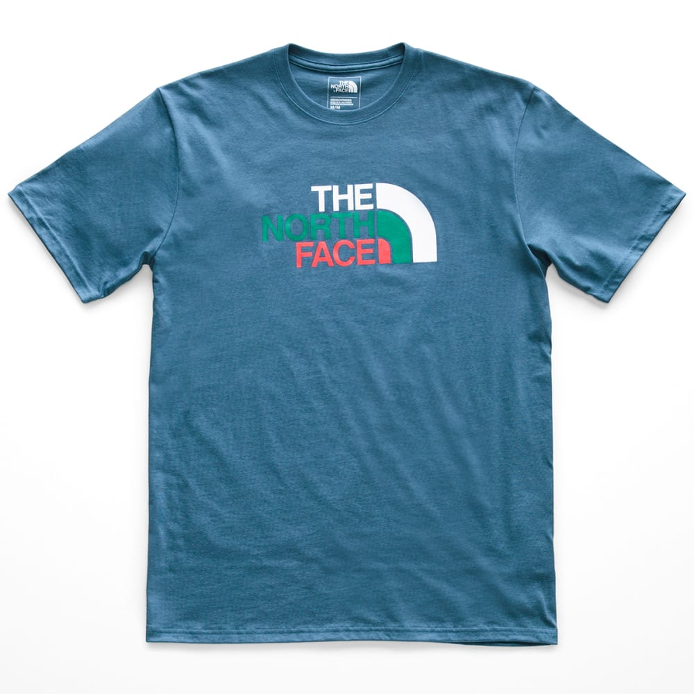 THE NORTH FACE Men's Climb On Half Dome Short-Sleeve Tee - BG8 - DISH BLUE