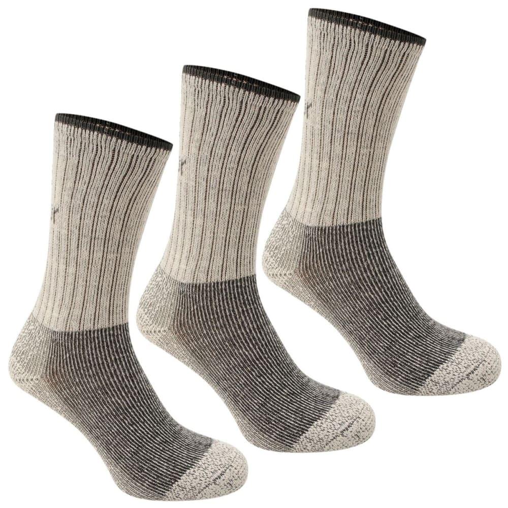 KARRIMOR Men's Heavyweight Boot Socks, 3-Pack - BEIGE
