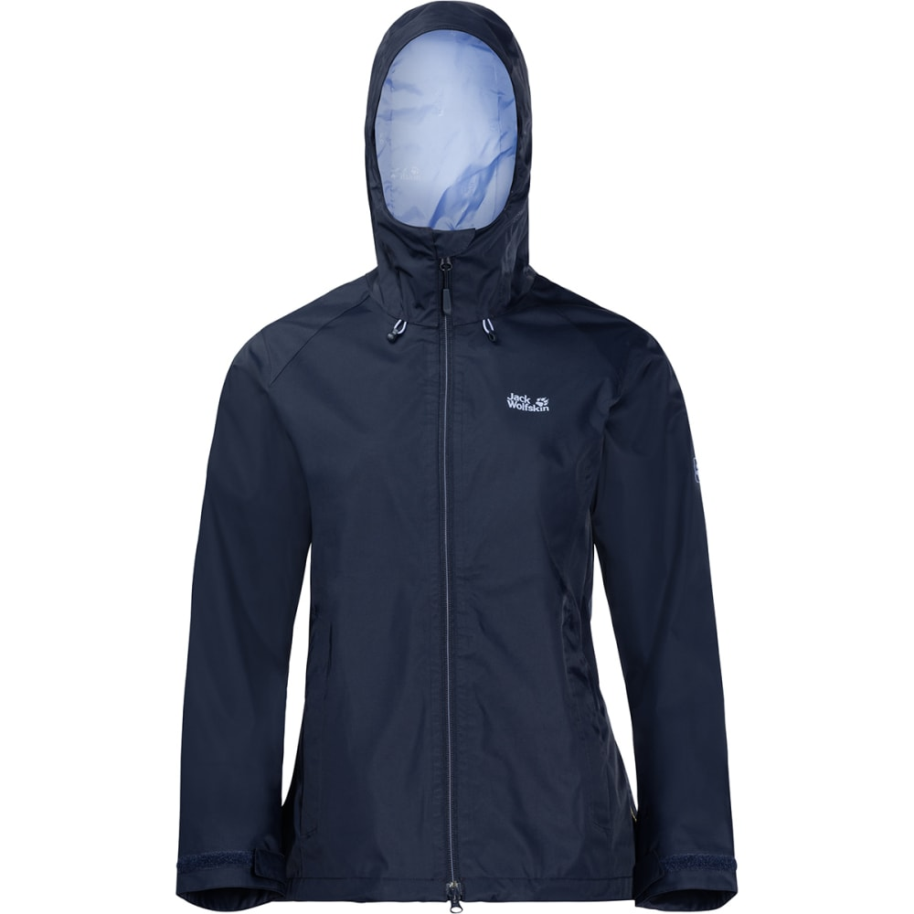 JACK WOLFSKIN Women's Arroyo Hardshell Jacket - 1910 MIDNIGHT BLUE