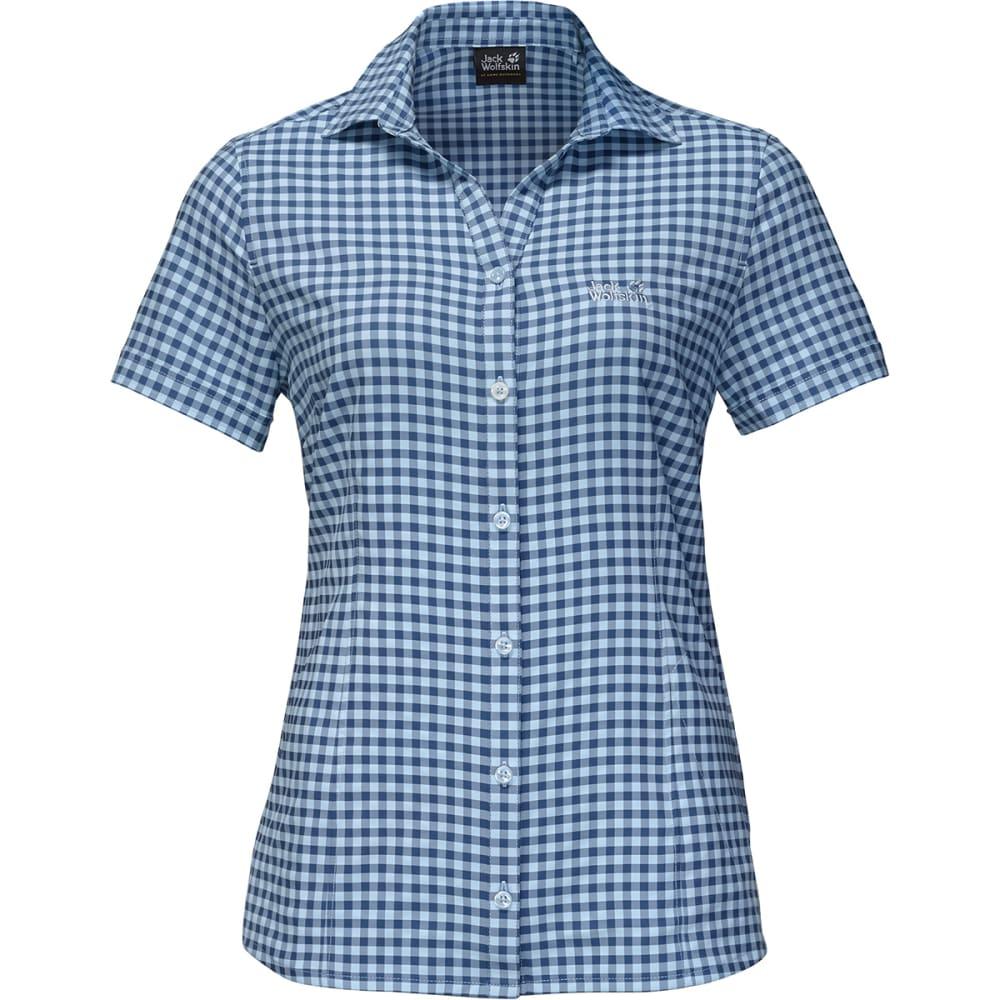 JACK WOLFSKIN Women's Kepler Short-Sleeve Shirt XS