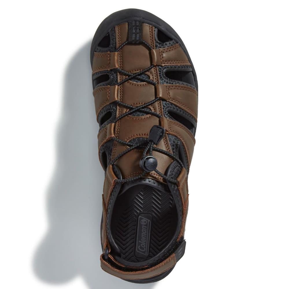 COLEMAN Men's Marabou Fisherman Sandals - BROWN