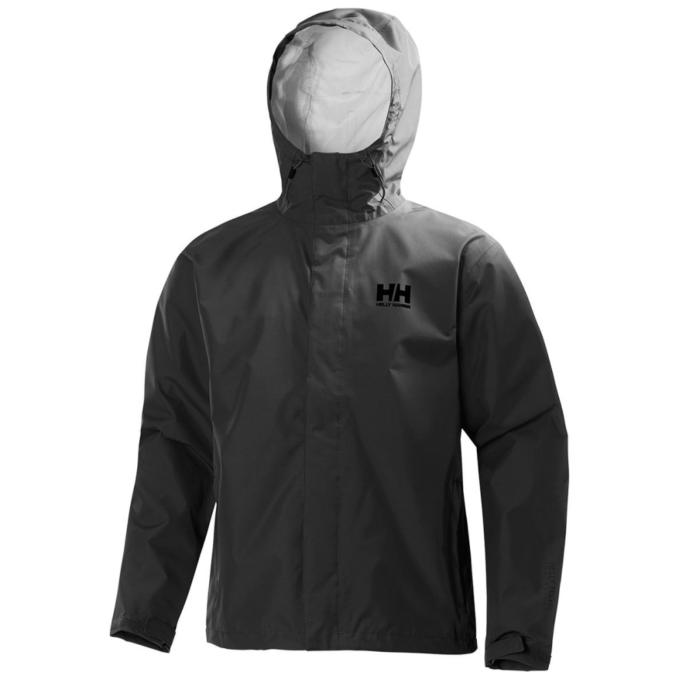 HELLY HANSEN Men's Seven J Jacket - 980 EBONY