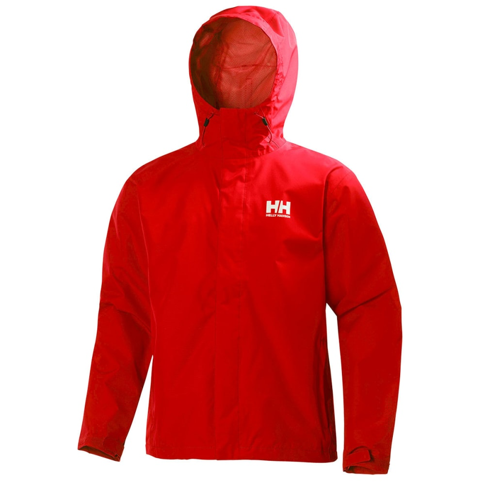 HELLY HANSEN Men's Seven J Jacket - 222 ALERT RED