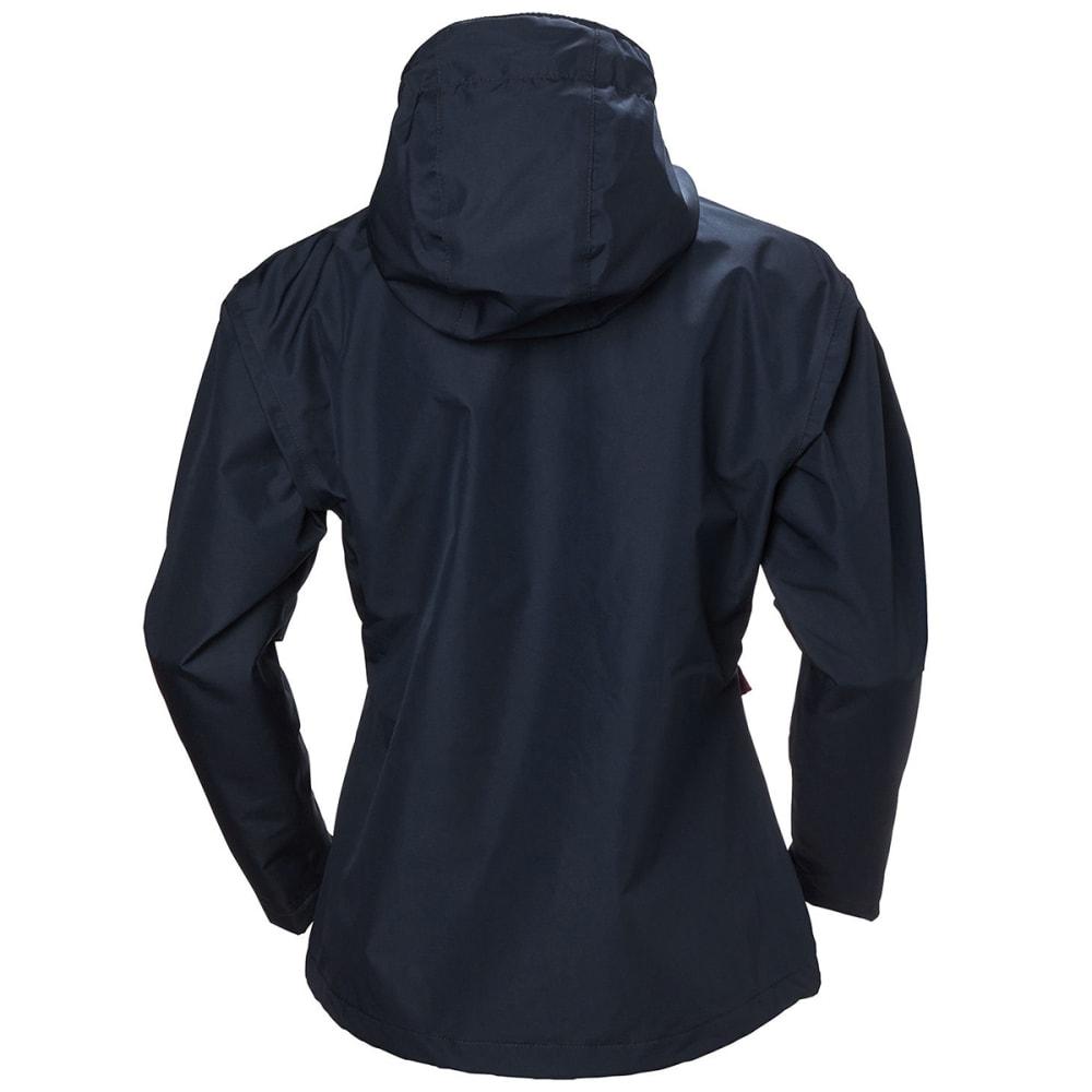 HELLY HANSEN Women's Seven J Rain Jacket - 597 NAVY