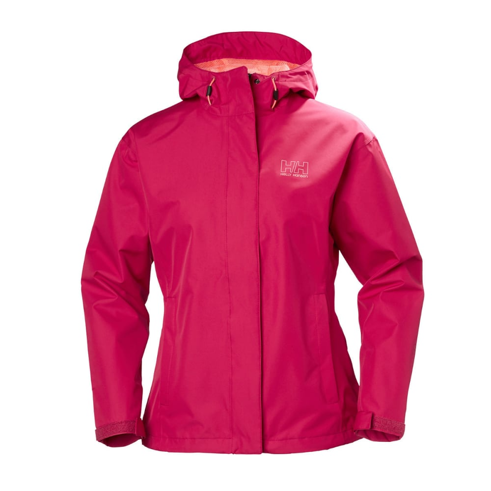 HELLY HANSEN Women's Seven J Rain Jacket - 183 PERSIAN RED