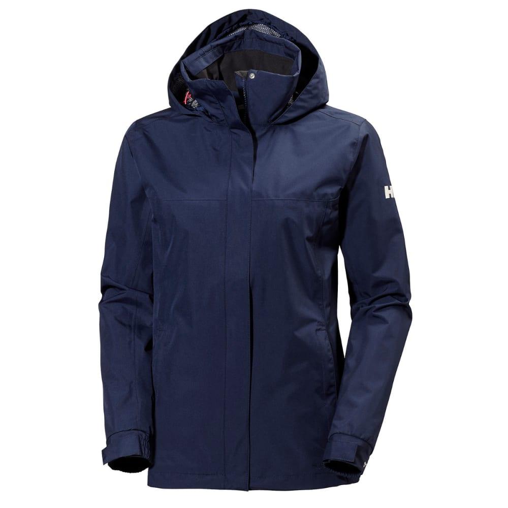 HELLY HANSEN Women's Aden Rain Jacket - EVENING BLUE