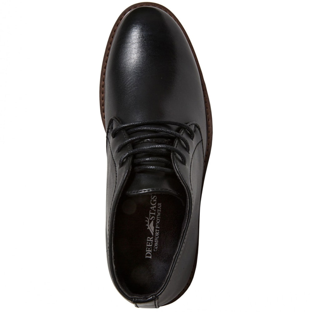 DEER STAGS Boys' Ballard Chukka Dress Boots - BLACK