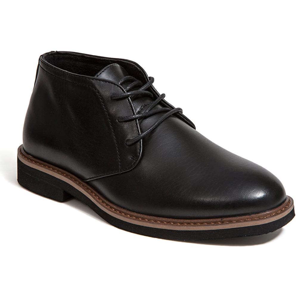 DEER STAGS Boys' Ballard Chukka Dress Boots - BLACK