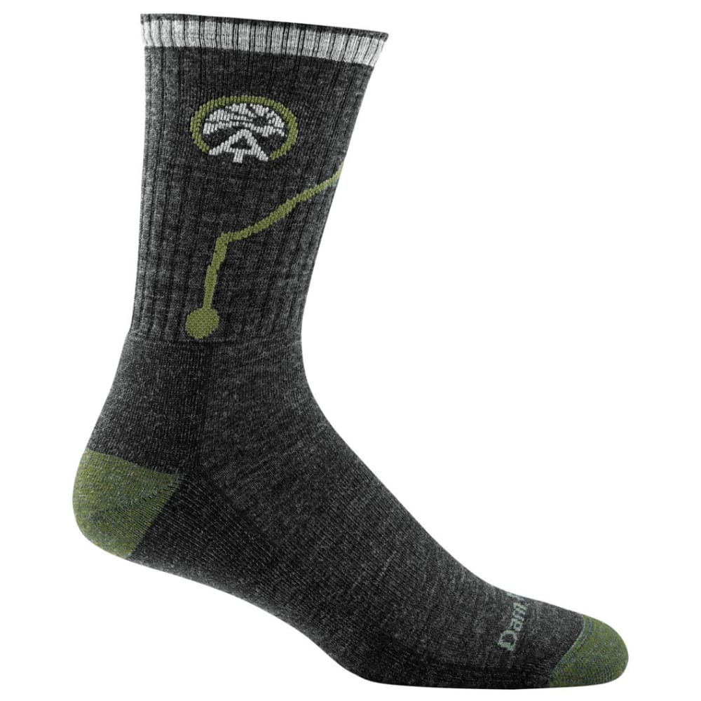 DARN TOUGH Men's ATC Micro Crew Cushion Socks - CHARCOAL
