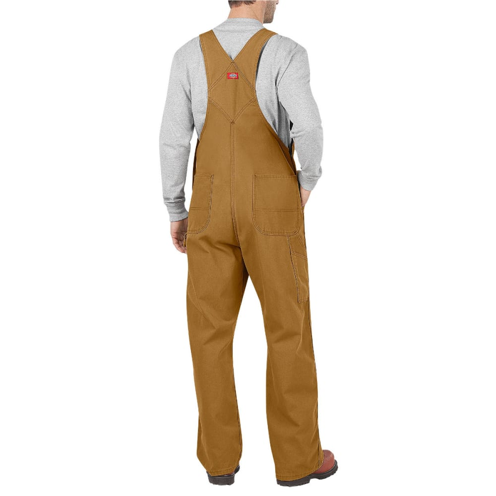DICKIES Men's Bib Overall - RNSD BROWN DUCK-RBD