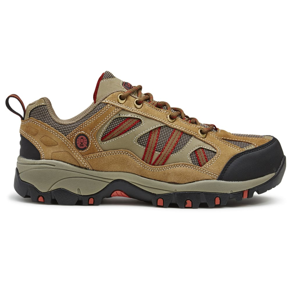 COLEMAN Men's Bristol Low Hiking Shoes - TAN