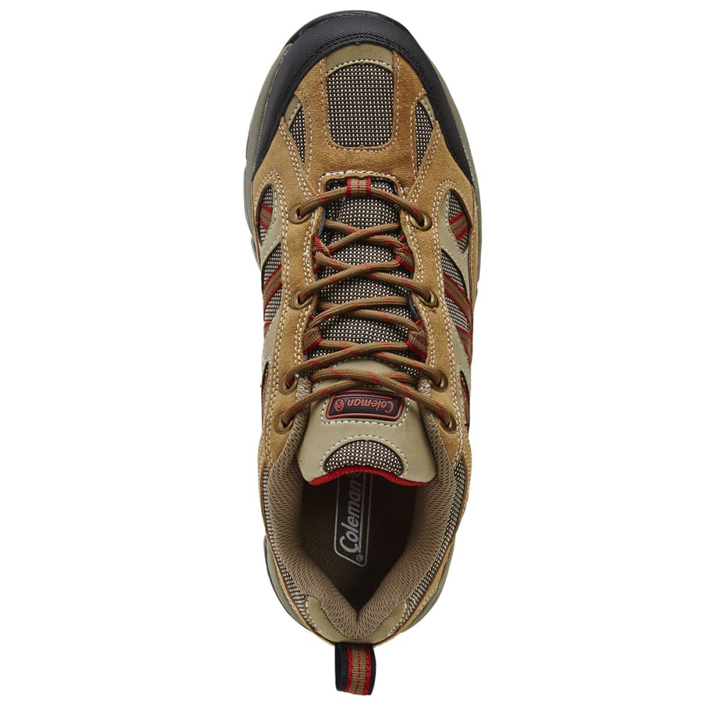 COLEMAN Men's Bristol Low Hiking Shoes - TAN