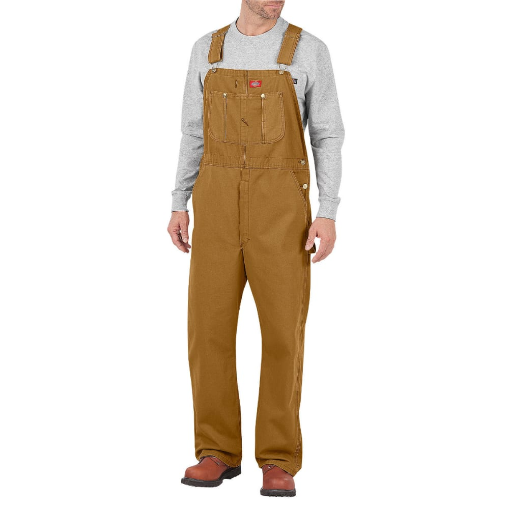 DICKIES Men's Bib Overall, Extended Sizes - RNSD BROWN DUCK-RBD
