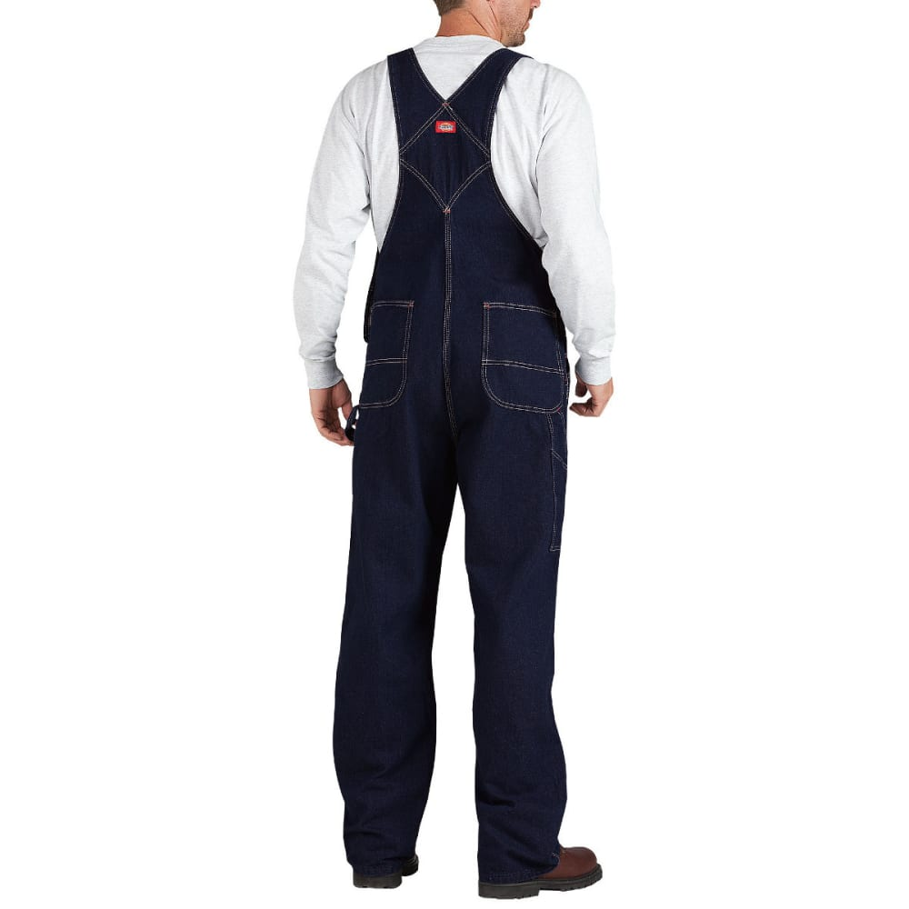 DICKIES Men's Bib Overall, Extended Sizes - RNSD INDIGO BLUE-RNB