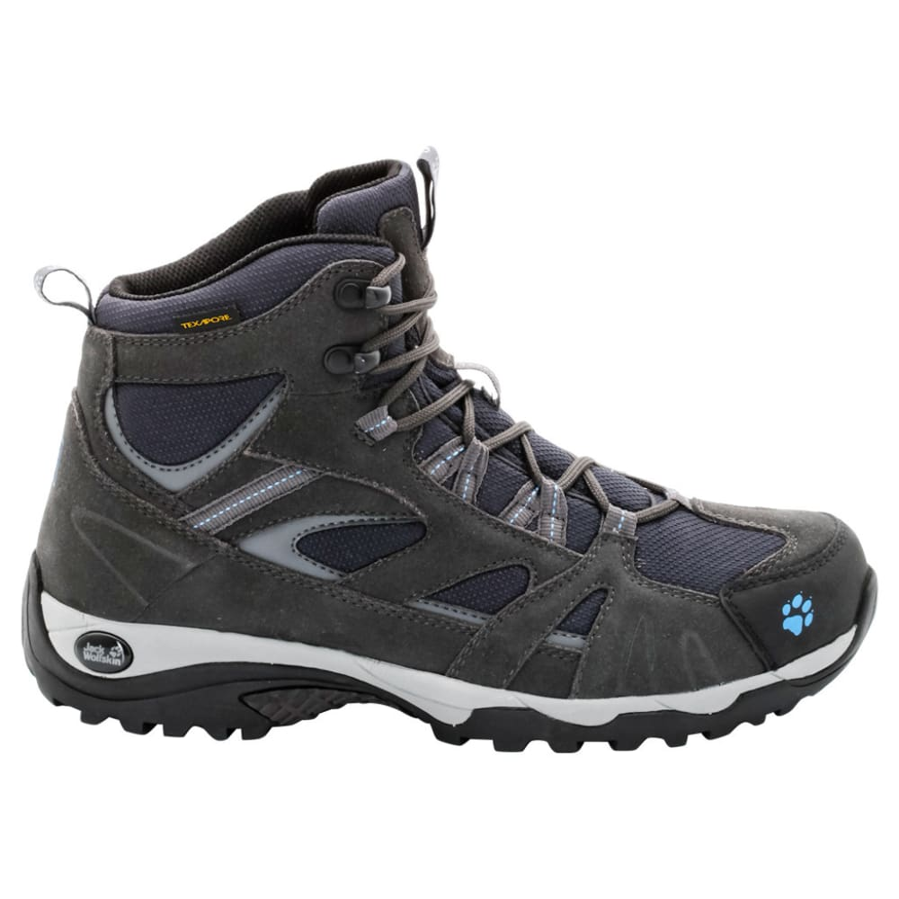 JACK WOLFSKIN Women's Vojo Mid Texapore Waterproof Hiking Boots, Light Sky 6