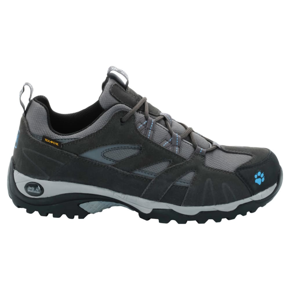 JACK WOLFSKIN Women's Vojo Low Texapore Waterproof Hiking Shoes, Light Sky - LIGHT SKY