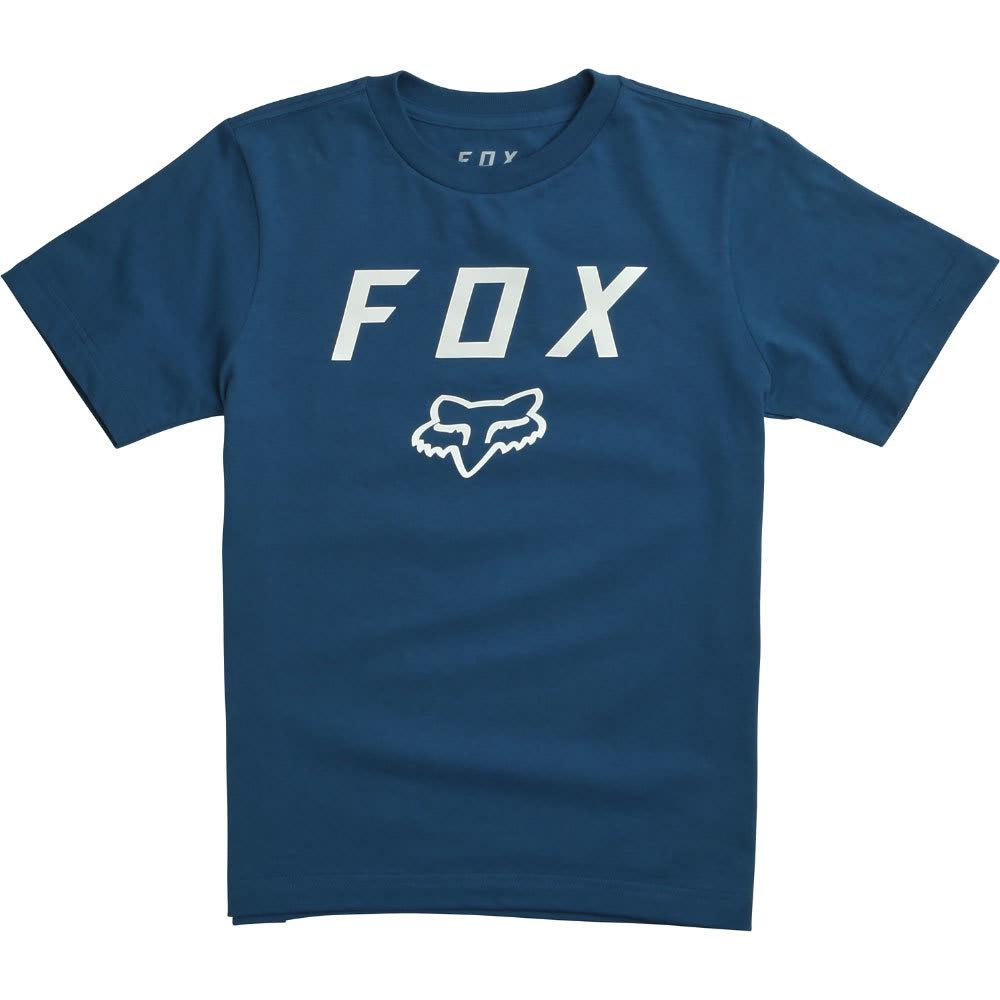 FOX Boys' Legacy Moth Tee - 157-DUSTY BLUE