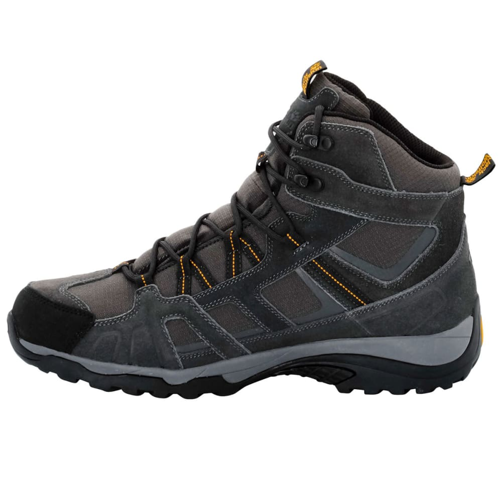 JACK WOLFSKIN Men's Vojo Mid Texapore Waterproof Hiking Boots, Burly Yellow - BURLY YELLOW