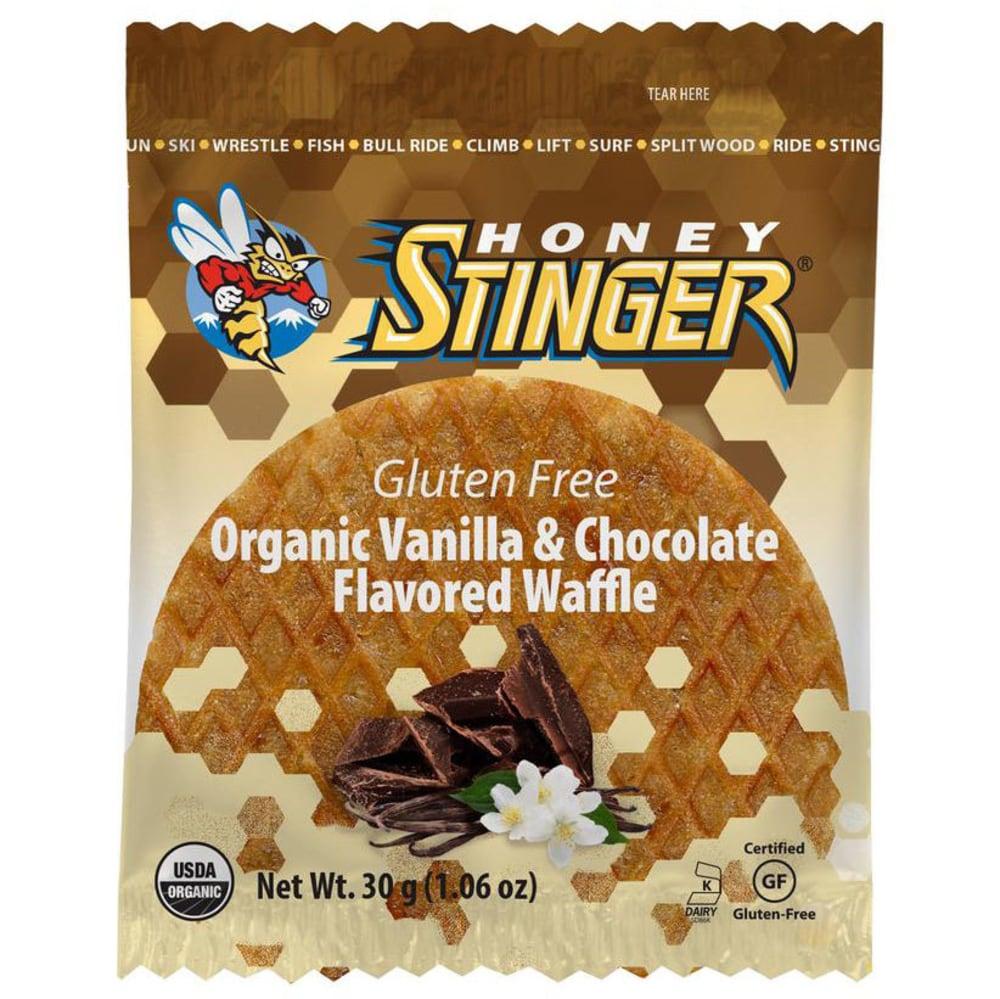 HONEY STINGER Vanilla & Chocolate Gluten Free Organic Waffle - NO COLOR