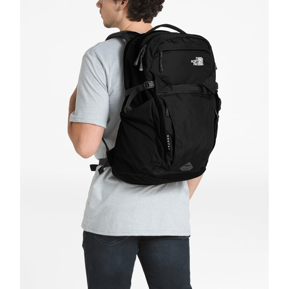 THE NORTH FACE Router Backpack - TNF BLACK-JK3