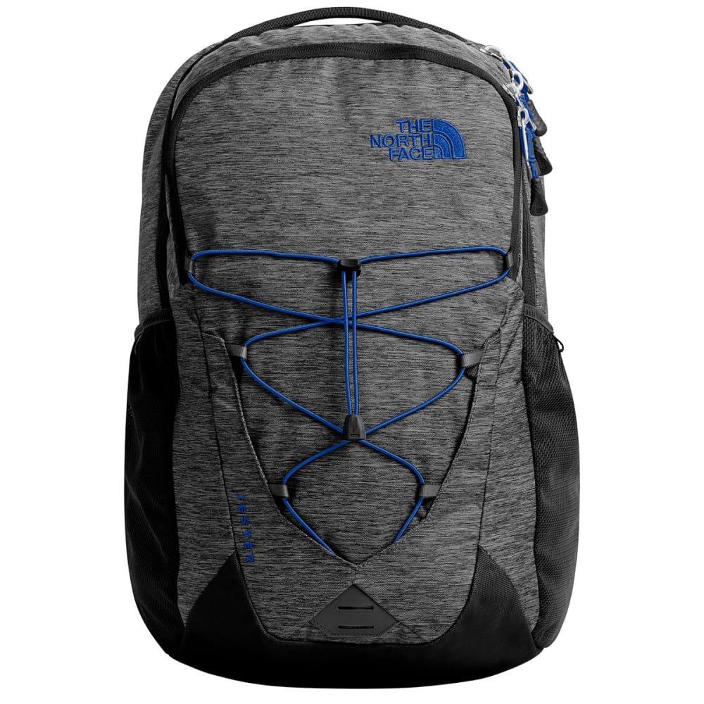 THE NORTH FACE Jester Backpack - BLK HEATHER/TNF BLUE