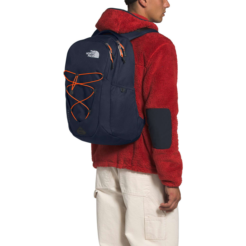 THE NORTH FACE Jester Backpack - URBAN NVY PERSN ORNG