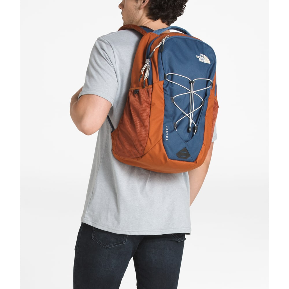 THE NORTH FACE Jester Backpack - SHADY BLUE/BRN-5RT