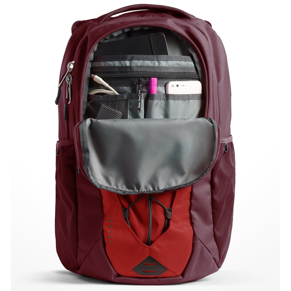 THE NORTH FACE Jester Backpack - CALDERA RED/RED-5YJ