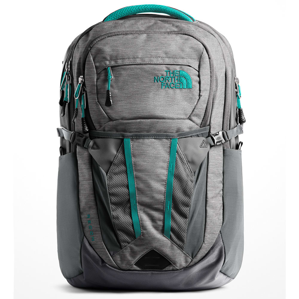 THE NORTH FACE Women's Recon Backpack - ZINC GREY HT/GRN-6FY
