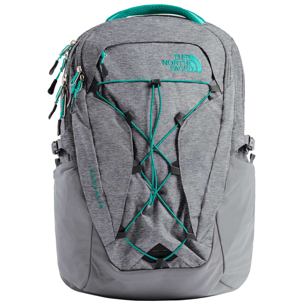 THE NORTH FACE Women's Borealis Backpack - ZINC GRY HTR/GRN-6FY