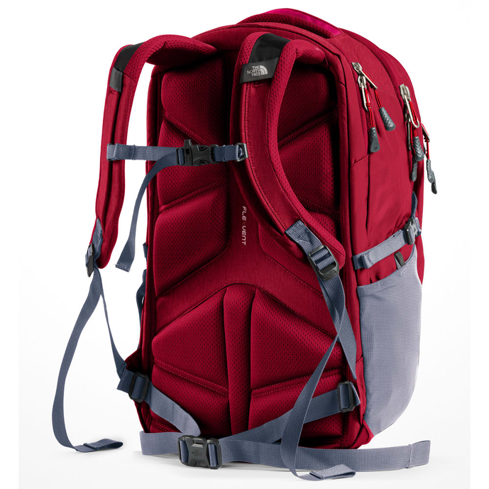 THE NORTH FACE Women's Borealis Backpack - RUMBA RED/GREY-5YX