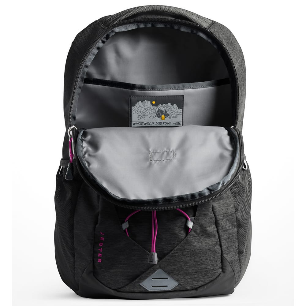 THE NORTH FACE Women's Jester Backpack - ASPH GRY DRK HTR-6FU