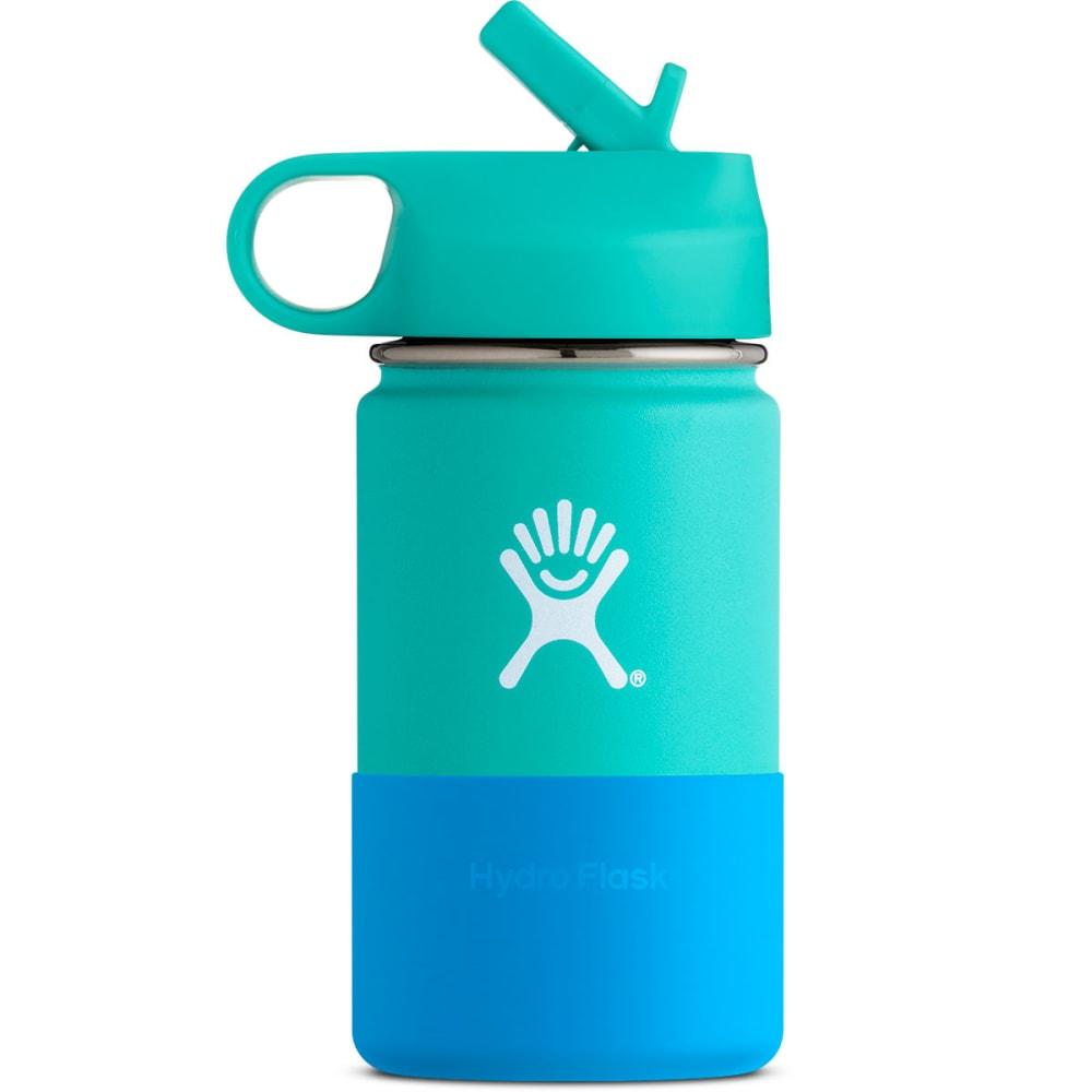 HYDRO FLASK Kids' 12 oz. Wide Mouth Water Bottle - MINT W12SWBB435