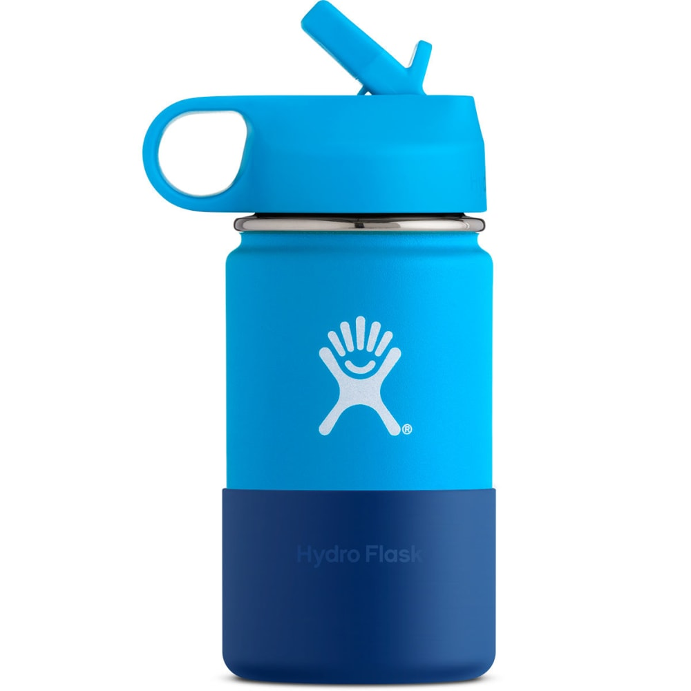 HYDRO FLASK Kids' 12 oz. Wide Mouth Water Bottle - PACIFIC W12SWBB415