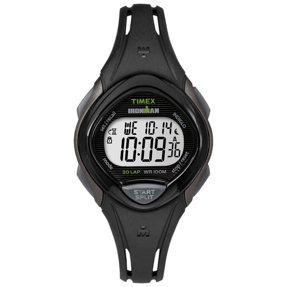 TIMEX Ironman Sleek 30 Dual Sport Watch - BLACK