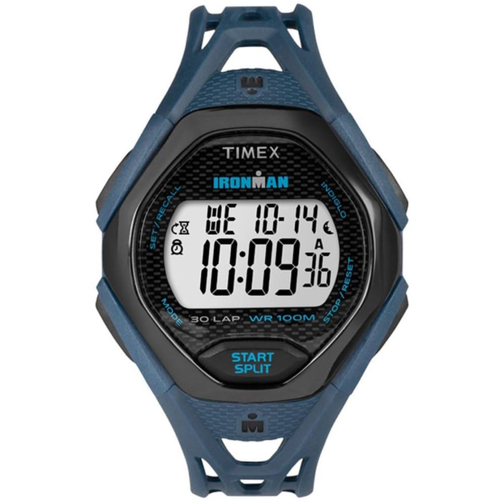 TIMEX Ironman Sleek 30 Dual Sport Watch - BLUE