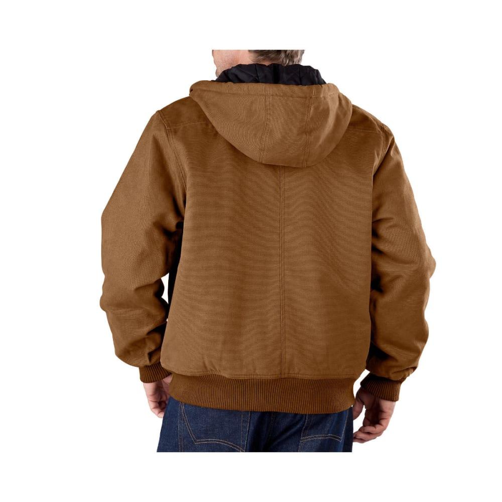 DICKIES Men's Sanded Duck Hooded Jacket, Extended Sizes - BROWN DUCK-BD