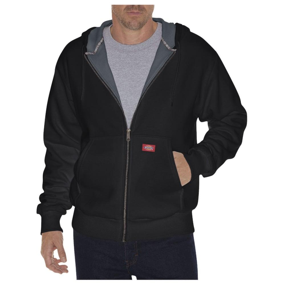 DICKIES Men's Thermal Lined Fleece Hoodie, Extended Sizes - BLACK-BK