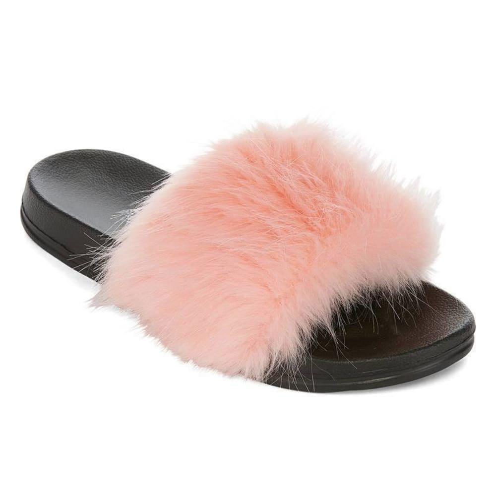 OLIVIA MILLER Women s Fur Slide Sandals - Eastern Mountain Sports 51be58142d