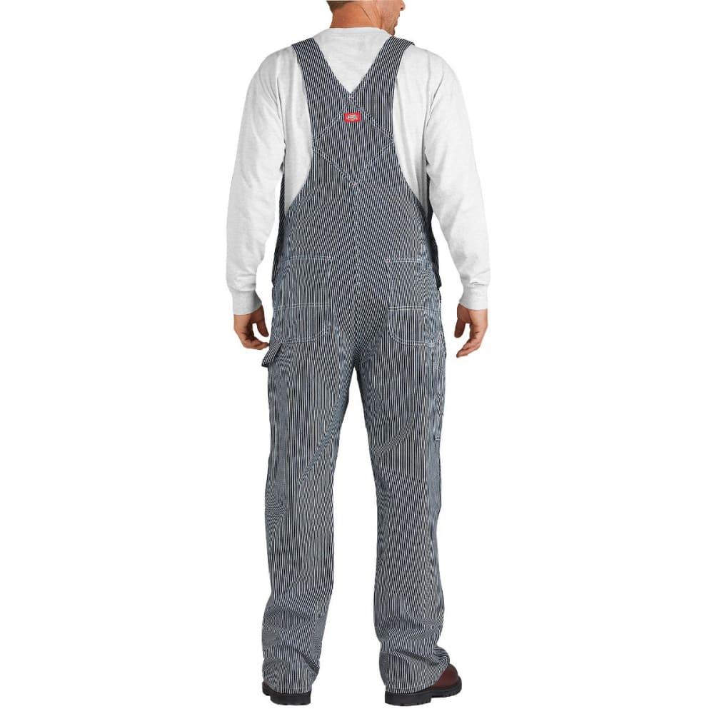 DICKIES Men's Striped Bib Overalls, Hickory Stripe - HICKORY STRIPE-HS