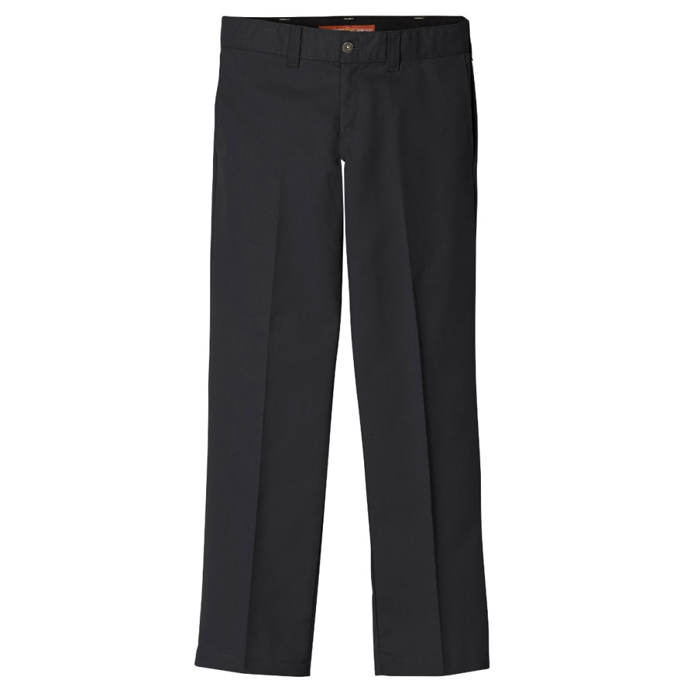 DICKIES Men's Dickies '67 Regular Fit Straight Leg Kevlar Twill Pant - BLACK-BK