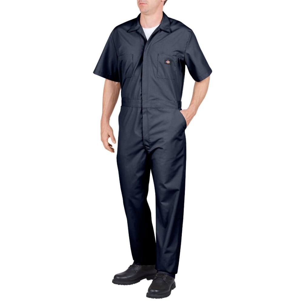 DICKIES Men's Short Sleeve Coverall - DARK NAVY-DN