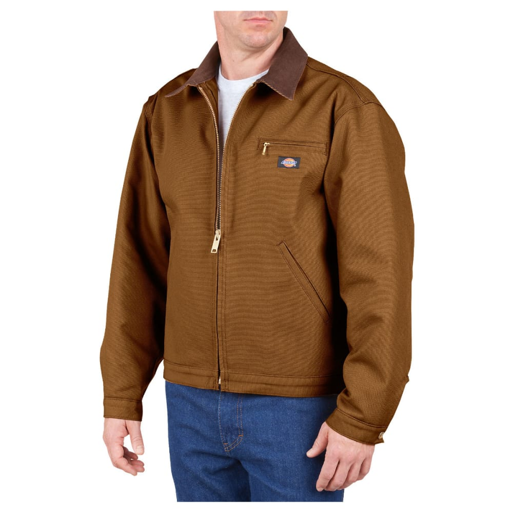DICKIES Men's Duck Blanket Lined Jacket, Extended Sizes L TALL