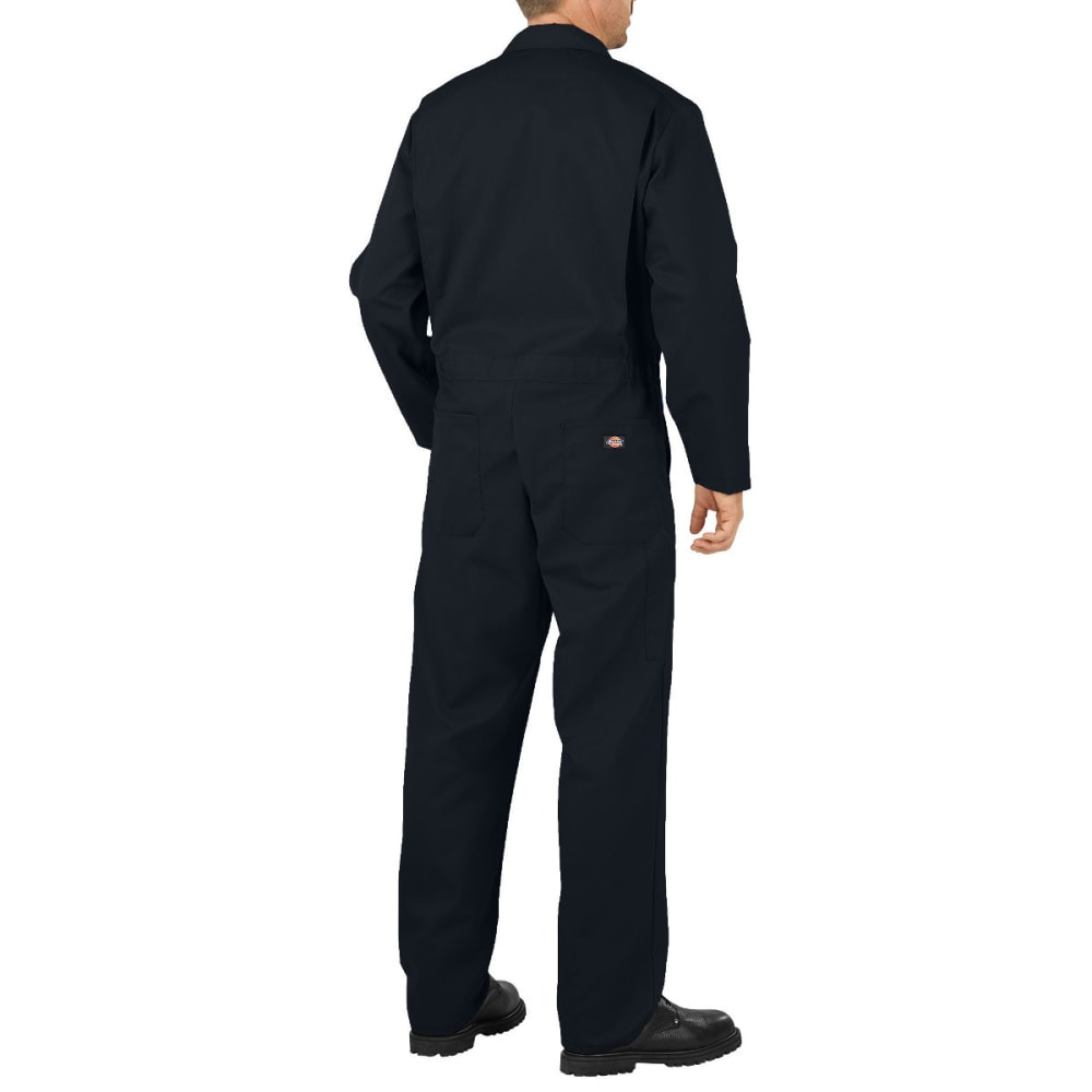 DICKIES Men's Flex Long Sleeve Coverall - BLACK-BK